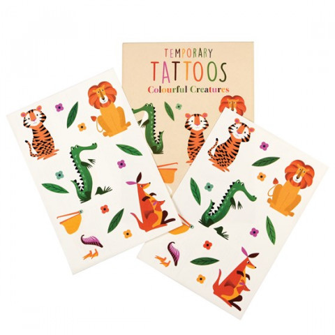 Tatuagens Animais da Selva