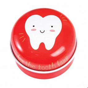 Caixa Dentes Vermelha