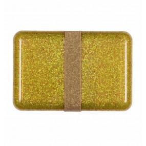 Lancheira Dourada Glitter