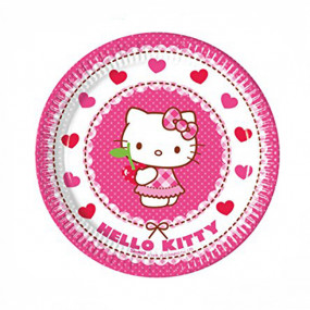 Pratos Hello Kitty