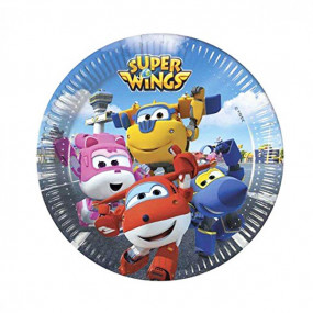 Pratos Super Wings