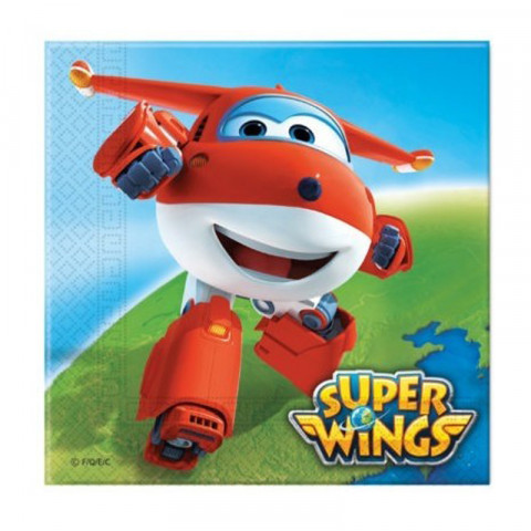 Guardanapos Super Wings