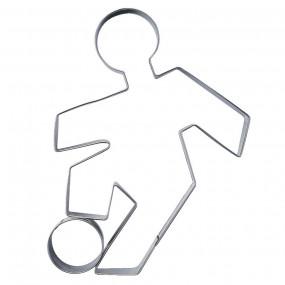 Cortador Jogador Futebol 9cm