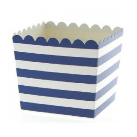 Pacotes Pipocas Azuis Riscas