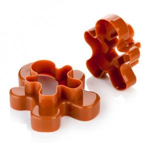 Cortadores Bonecos Gengibre - 4 tamanhos