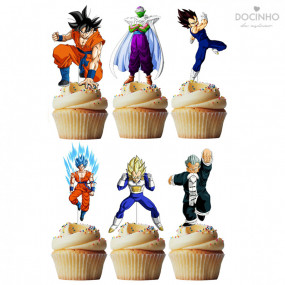 6 Toppers Dragonball