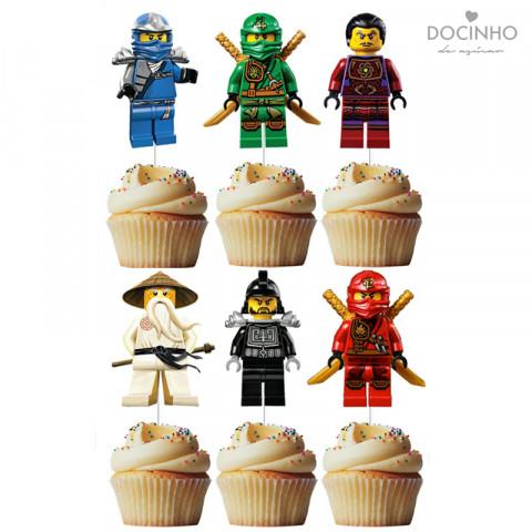 6 Toppers Ninjago