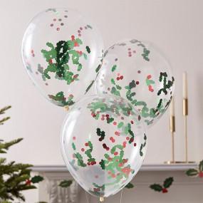 Balões Azevinhos - conj.5