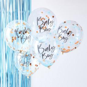 5 Balões Baby Boy