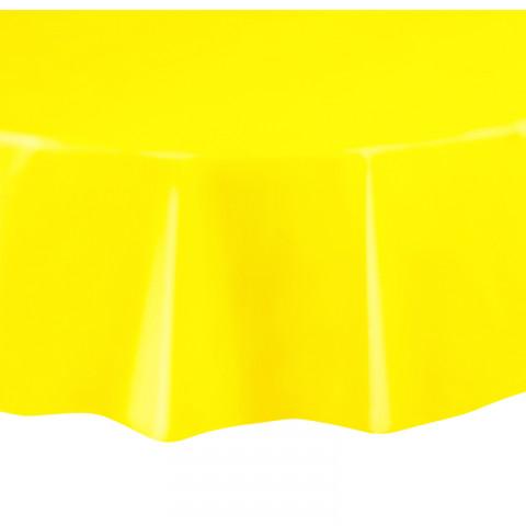 Toalha Amarelo Redonda