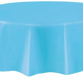 Toalha Azul Claro Redonda
