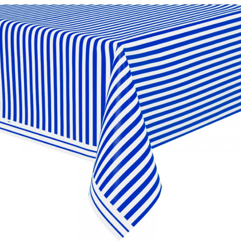 Toalha Azul Riscas