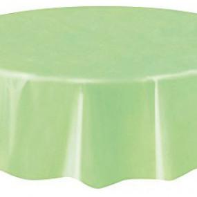 Toalha REDONDA Verde Claro