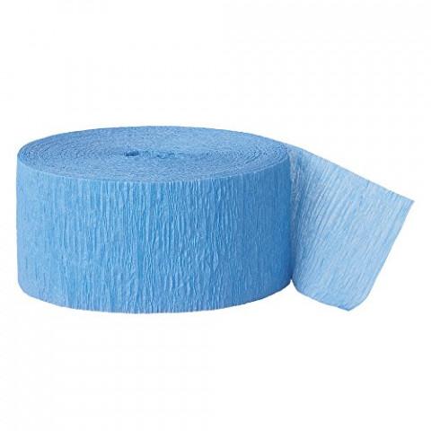 Fita Crepe Azul Turquesa