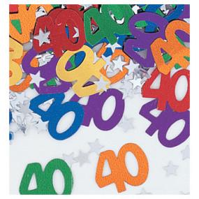 Confetis 40 Anos