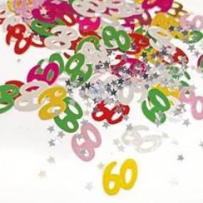 Confetis 60 Anos