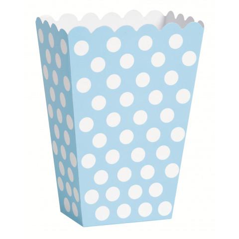 Pacotes Pipocas Azul Claro Bolas