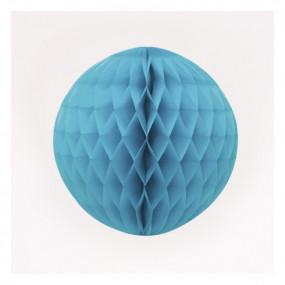 Bola de Papel Azul Claro 20cm