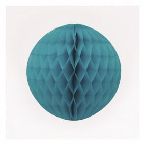 Bola de Papel Azul Turquesa 20cm