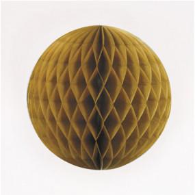 Bola de Papel Dourado 20cm
