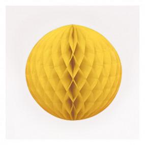 Bola de Papel Amarela 20cm
