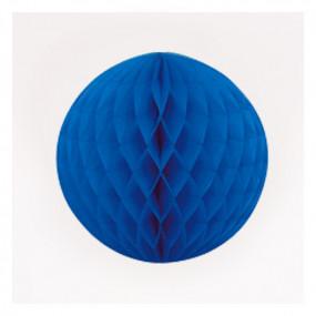 Bola de Papel Azul 20cm