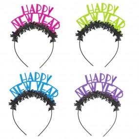 """Conj. 4 Tiaras """"Happy New Year"""""""