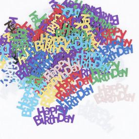Confetis Happy Birthday