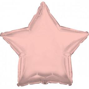 Balão Estrela Rosegold 50cm