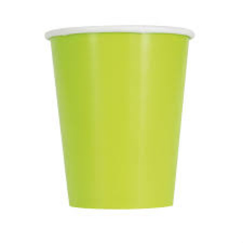 Copos Verde Neon - conj.14