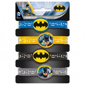 4 Pulseiras Batman