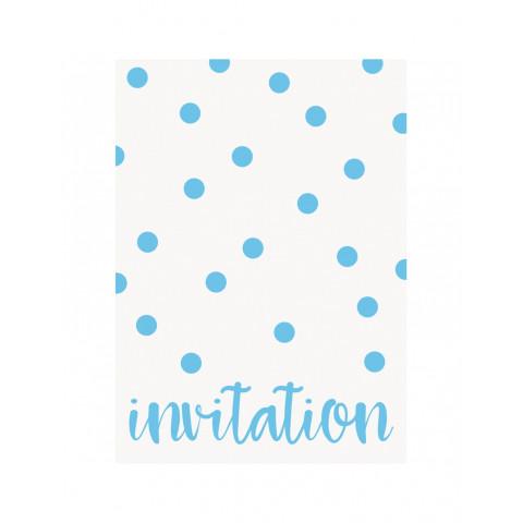 Convites Pintas Azul