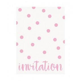 Convites Pintas Rosa