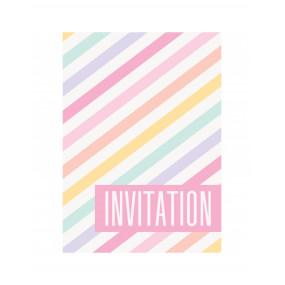 Convites Riscas Pastel