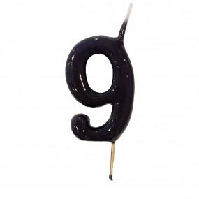 Vela Nº Preto - 5.5cm