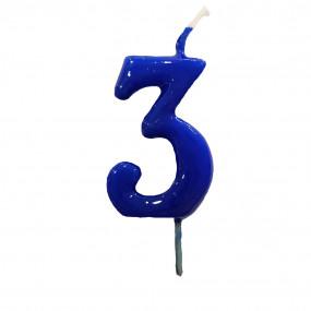 Vela Nº Azul Royal - 5.5cm