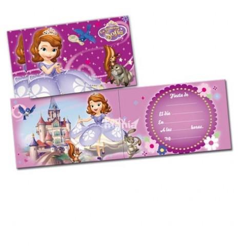 Convites Princesa Sofia