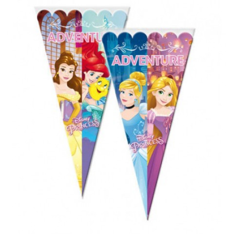10 Sacos Cone Princesas
