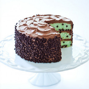 Preparado Cake Menta+ Pepitas Chocolate 500GR