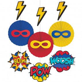 3 Rosetas Super Heróis