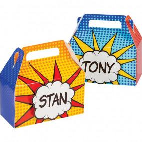 Caixas Super Heróis pack 4
