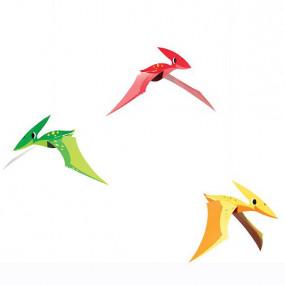 Conj. 3 Decorações Dinossauros